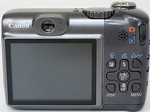 Canon A590 - BACK