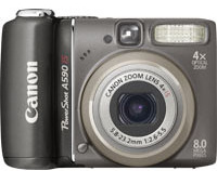 Canon A590 - FRONT
