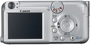 canon A460 - BACK