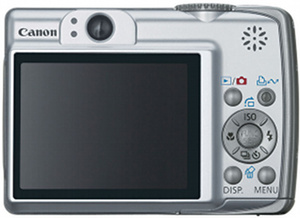 Canon A560 - BACK