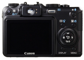 Canon G7 - BACK